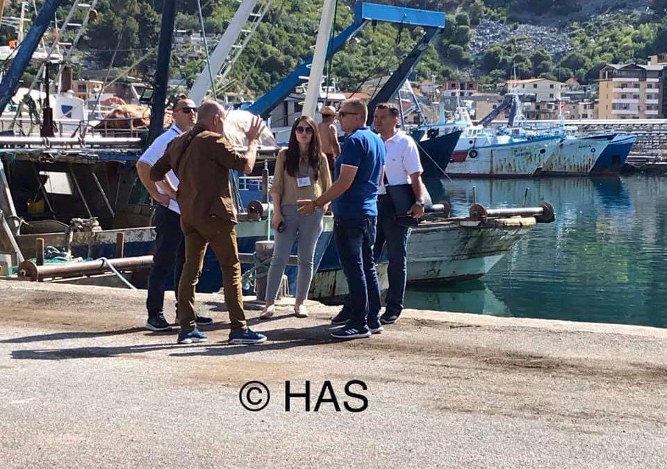 Meeting at the Port of Shëngjin – Albania
