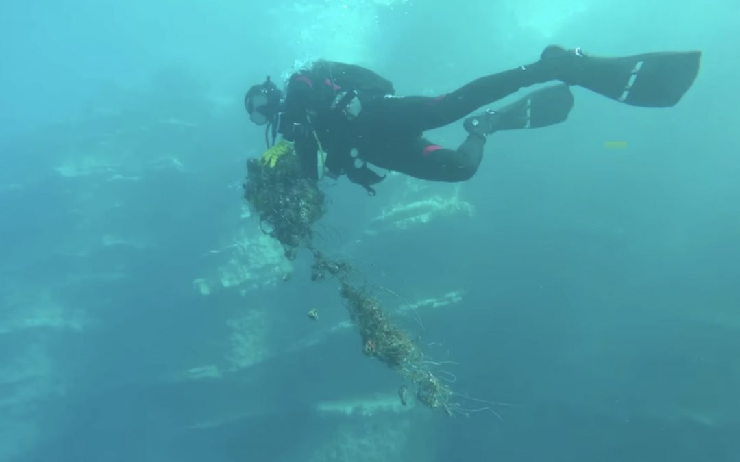 PSCA continue the detection of ghost nets in Turkey!