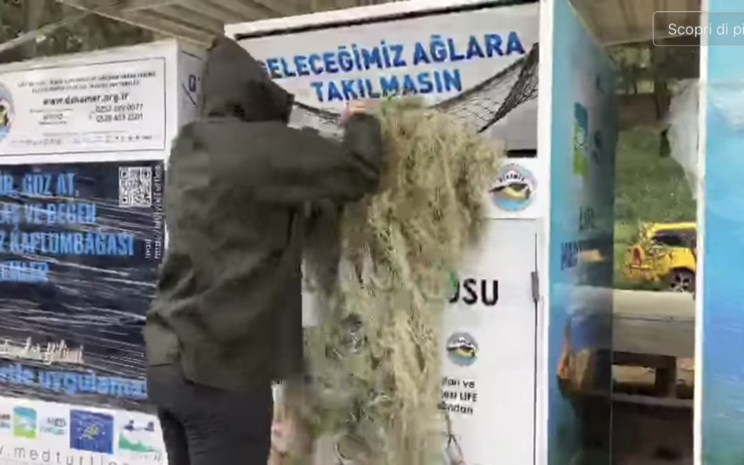 PSCA will start the placement of Collection Boxes for ghost nets in Turkey (see video)!