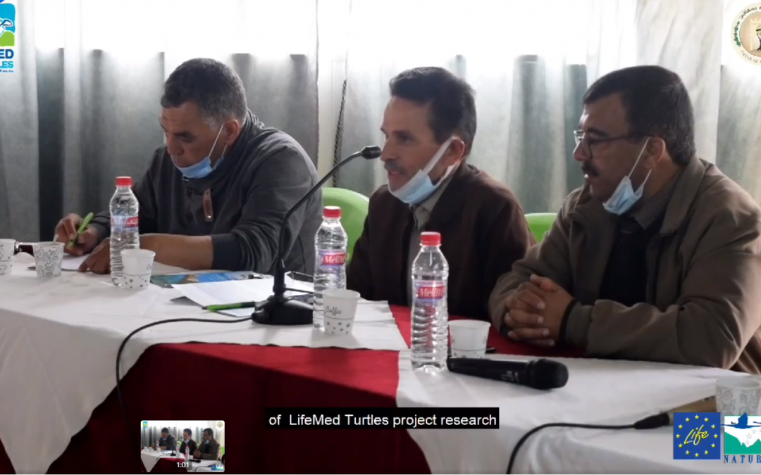 Sfax Faculty of Sciences meeting with fishermen (video)!