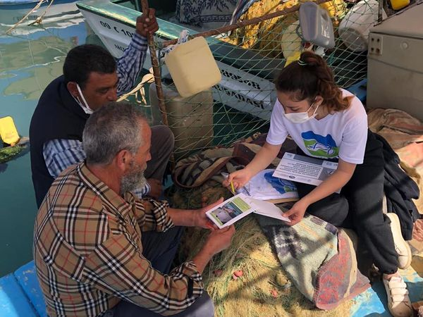 Fishermen's awareness campaigns continues in Turkey