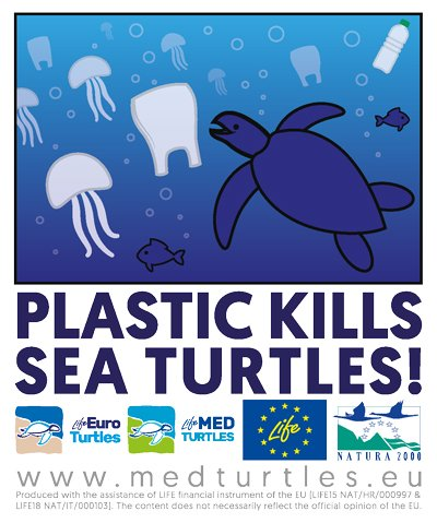 PLASTIC KILLS SEA TURTLES