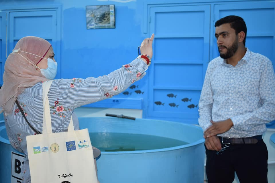 Inauguration ceremony of the Sea Turtle First Aid Center at the Sfax Faculty of Sciences