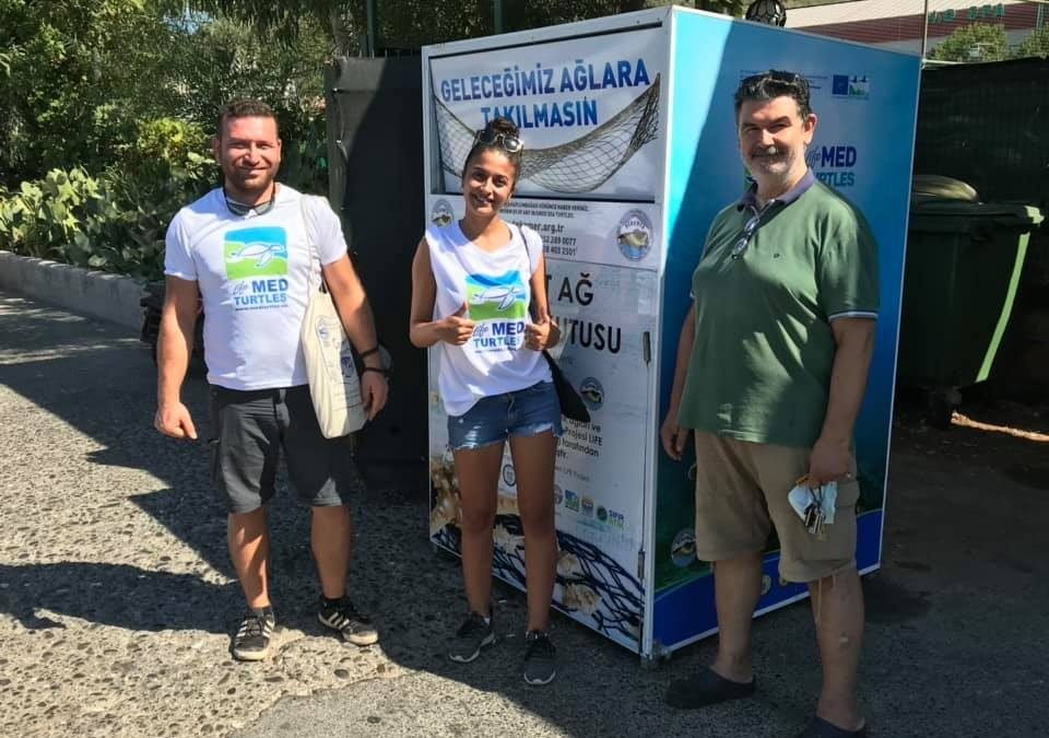 Another collection bins were placed in Fethiye and Marmaris – Turkey